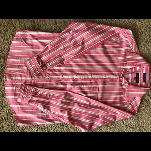Faconnable Striped Blouse Size S Great Condition